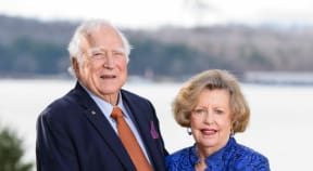 William and Martha Beth Sturgis are creating a distinguished professorship with the largest donation in history to the Department of Chemical and Biomolecular Engineering.