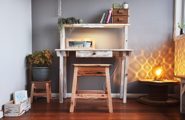 custom study desk