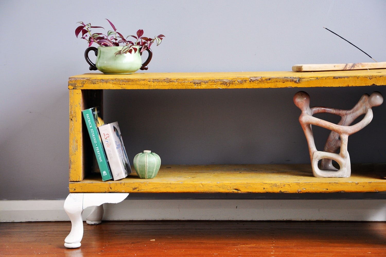 low shelf detail