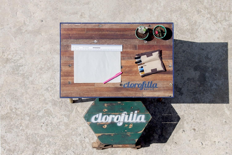 clorofilla work station top