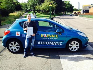 School Elevate Driving Nottingham 1