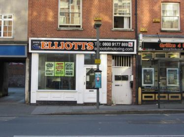 School Elliotts of Motoring Nottingham 1