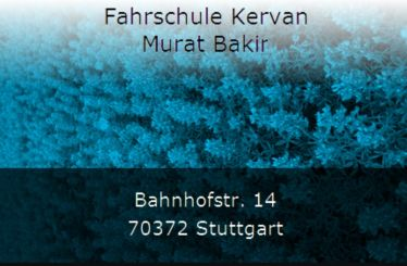 Fahrschule Kervan Murat Bakir Stuttgart Bad Cannstatt 1