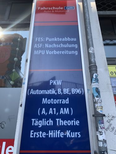 Fahrschule Kotti - Kreuzberg in Friedrichshain