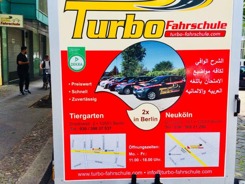 Fahrschule  Turbo-Fahrschule Berlin (Moabit) Moabit 11