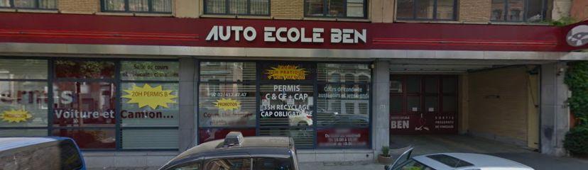 School Auto-Ecole Ben Molenbeek-Saint-Jean 1