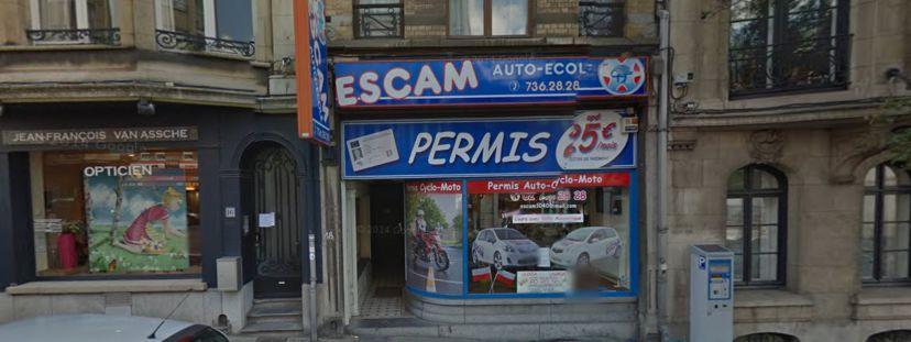 Auto-école Auto-Ecole ESCAM Etterbeek 1