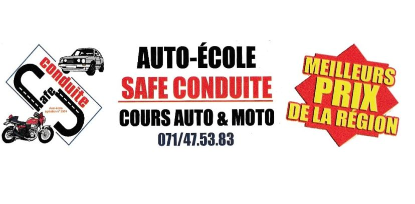 Auto-école Safe Conduite Charleroi 1