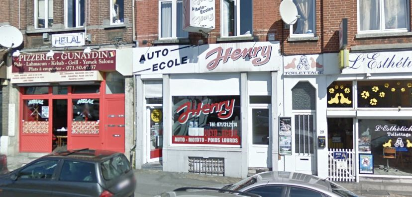 Auto-école Henry Charleroi 1