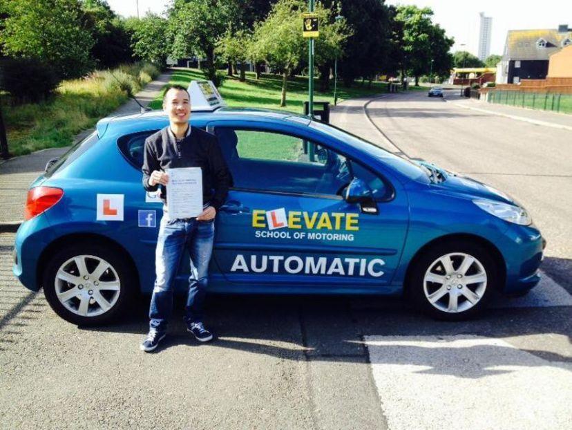 School Elevate Driving Nottingham 1