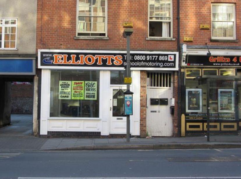 School Elliotts of Motoring Nottingham 1