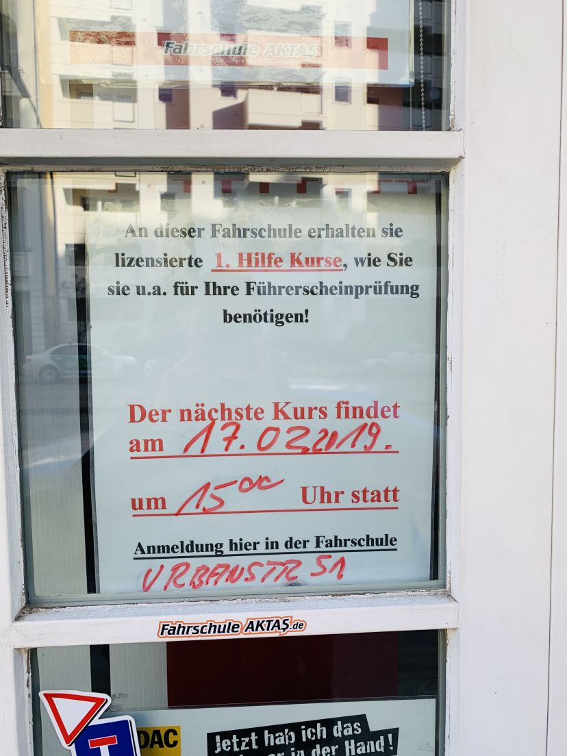 Fahrschule Aktas - Grunewaldstr. Berlin Schöneberg 4