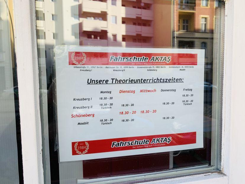 Fahrschule Aktas - Grunewaldstr. Berlin Schöneberg 7
