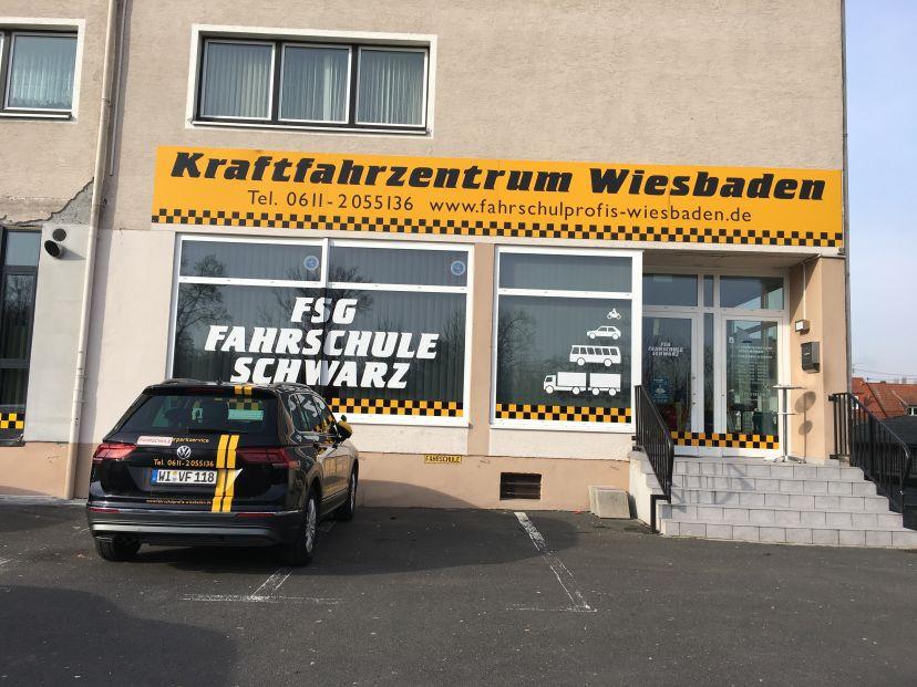 Fahrschule Kraftfahrzentrum Wiesbaden FSG-Fahrschule Schwarz GmbH Dotzheim 1