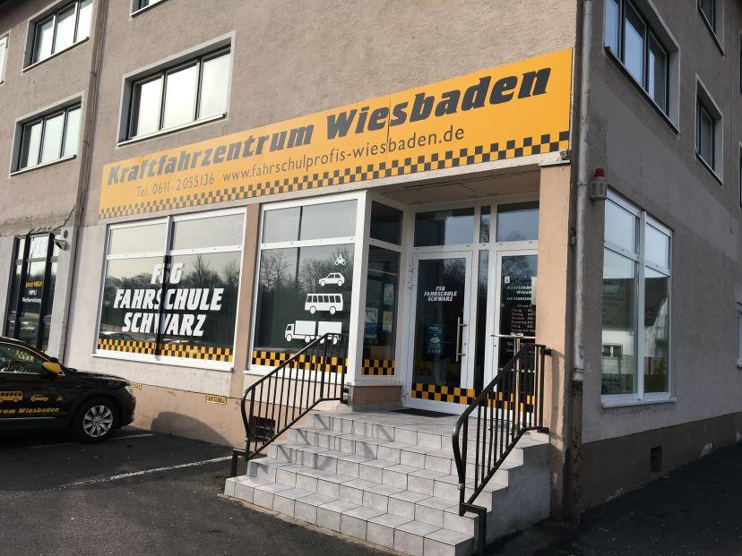 Fahrschule Kraftfahrzentrum Wiesbaden FSG-Fahrschule Schwarz GmbH Dotzheim 3