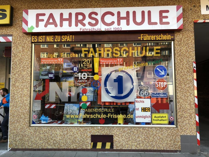 Fahrschule Holger Frische Barmbek-Süd 1