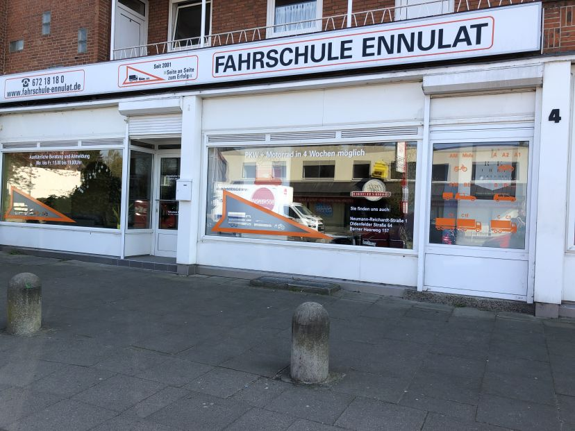 Fahrschule Ennulat - Rahlstedter Str. Tonndorf 2