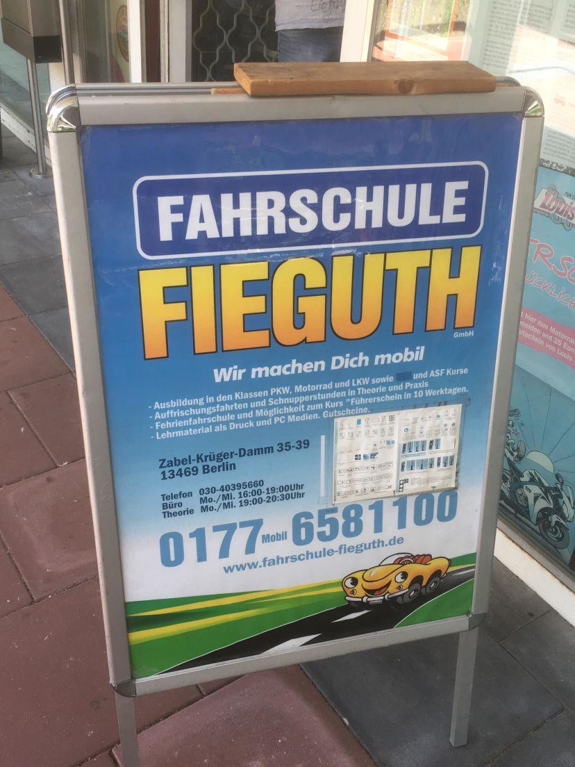 Fahrschule Fieguth Wittenau 5