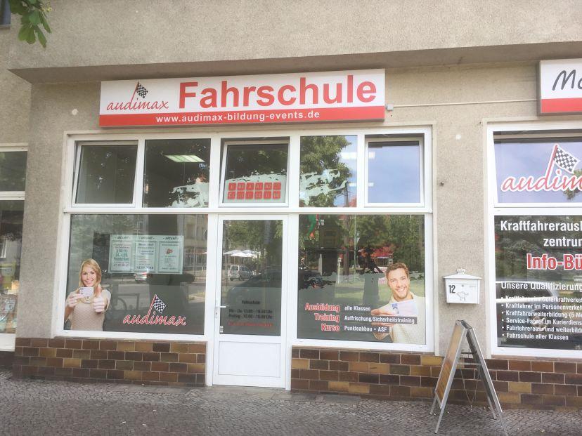 Fahrschule audimax GmbH - Bildung & Events Pastor-Niemöller-Platz Niederschönhausen 1