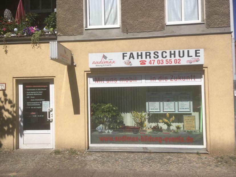 Fahrschule audimax GmbH - Bildung & Events Hauptstr. Wilhelmsruh 1