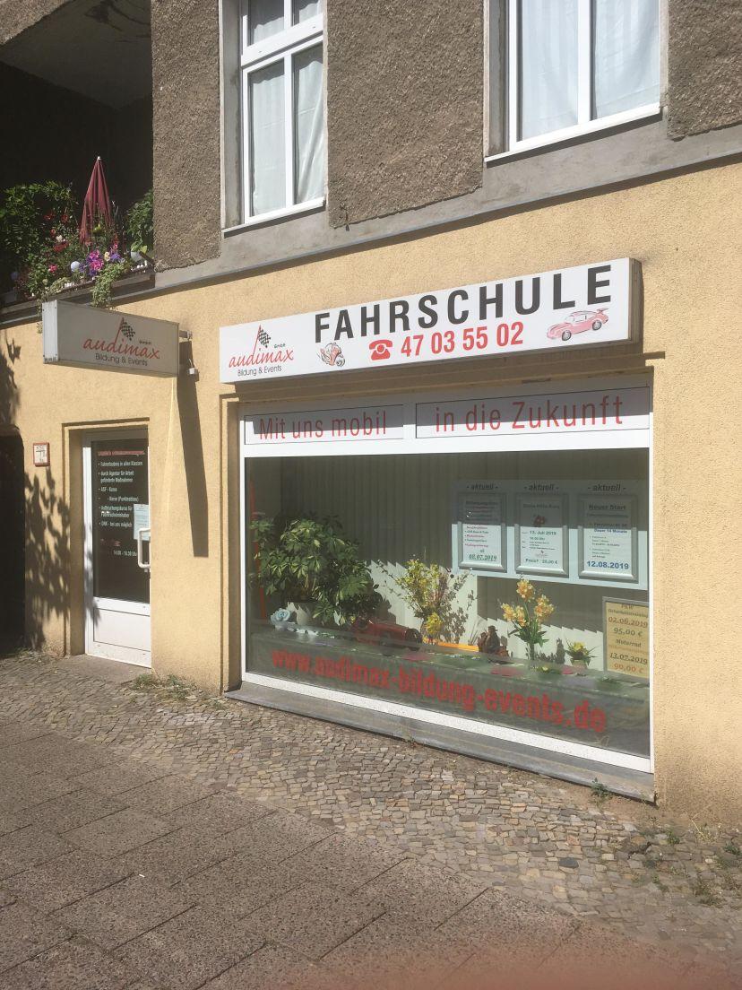 Fahrschule audimax GmbH - Bildung & Events Hauptstr. Wilhelmsruh 3