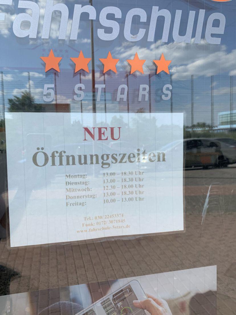 Fahrschule 5 Stars Berlin Treptow 4