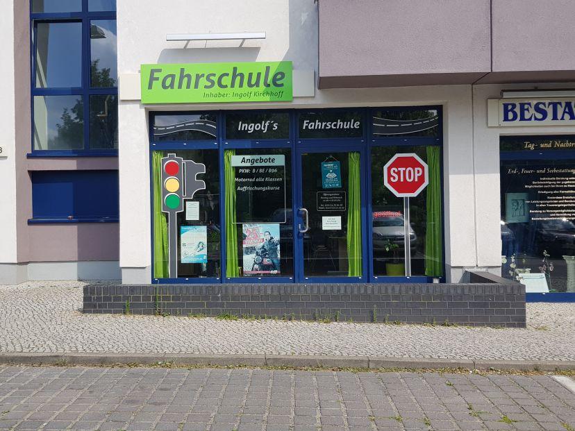 School Ingolf´s Fahrschule Biesdorf 1