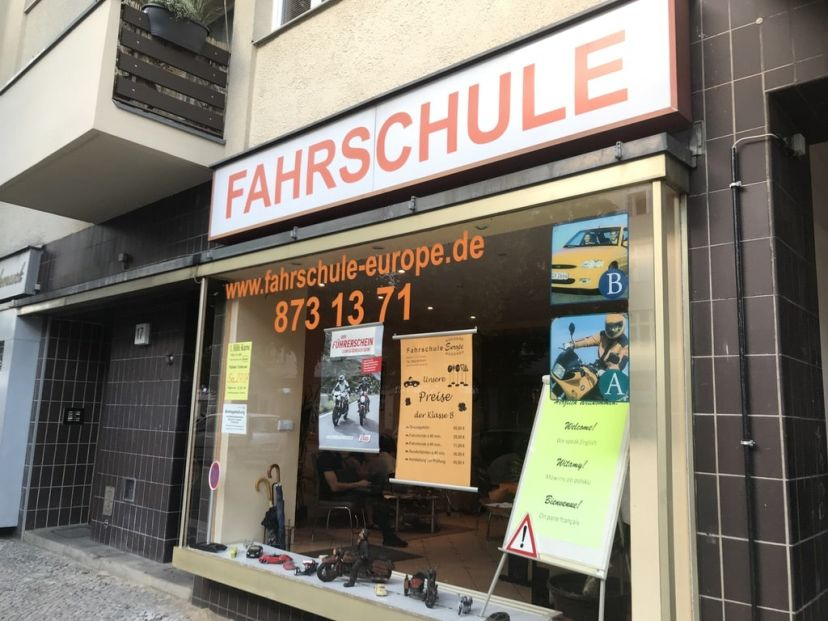 Fahrschule Europe Blissestr Berlin Charlottenburg 1