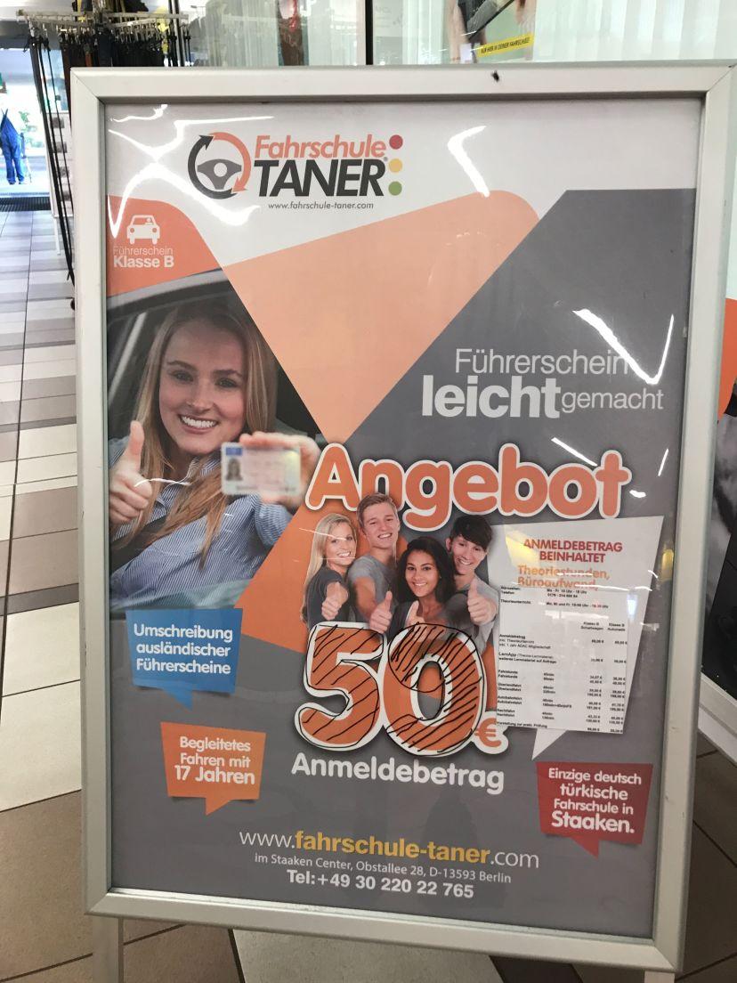 Fahrschule Taner Berlin Spandau 4