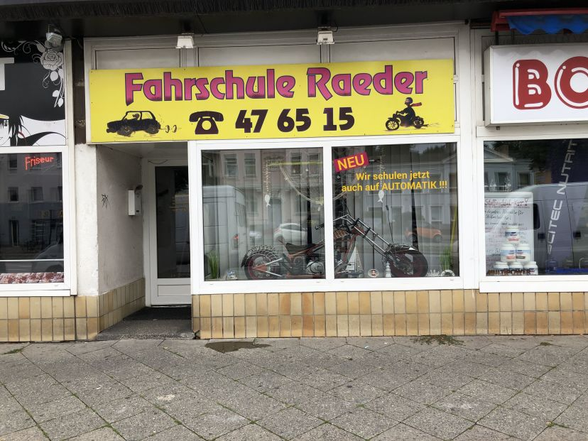 Fahrschule Raeder Hanfried Lübeck St. Lorenz Nord 1