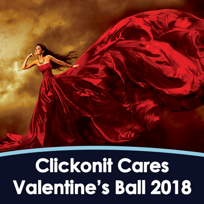 The Clickonit Cares Valentine Ball 2018
