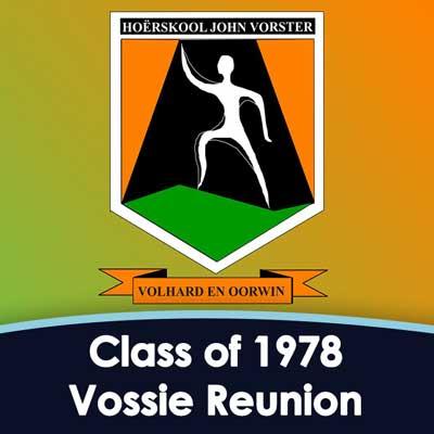 Hoërskool John Vorster Class of 1978