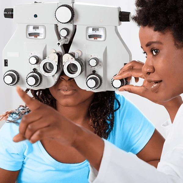 Especialidade oftalmologista - Clinica Luzes São Caetano
