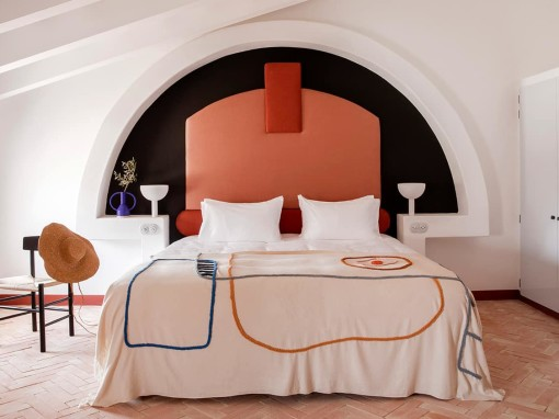 Mediterranean hotel interiors inspired by artists' villas