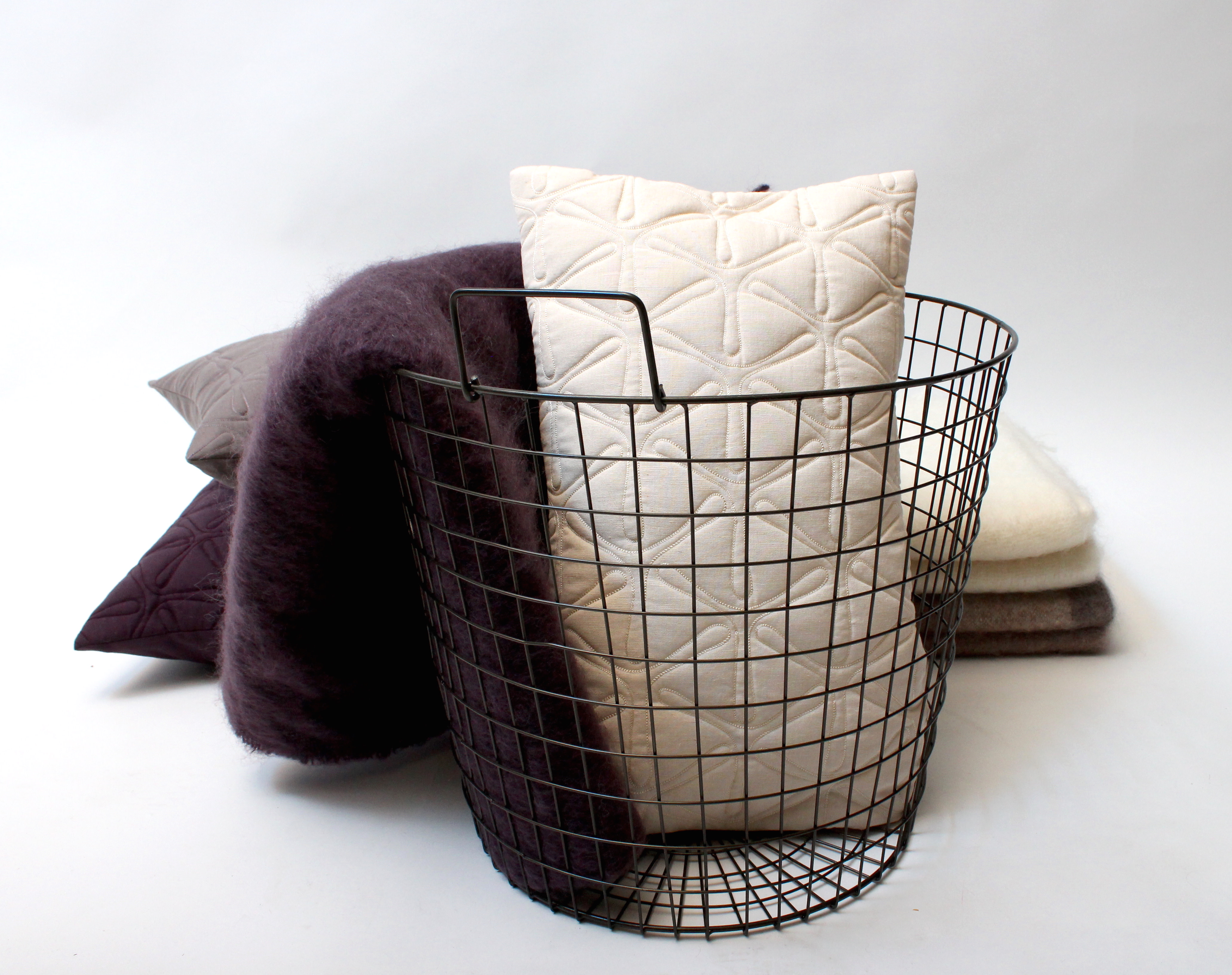 Quilted Geo Cushion