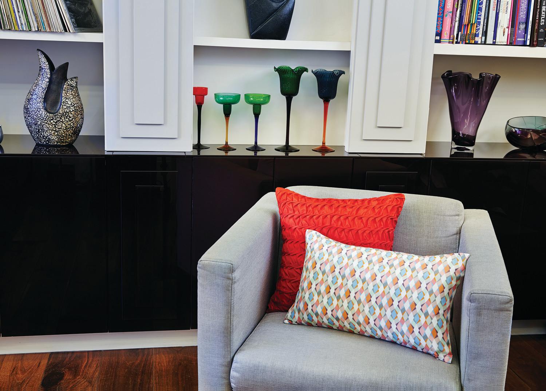 Hand Smocked and Printed Silk Cushions