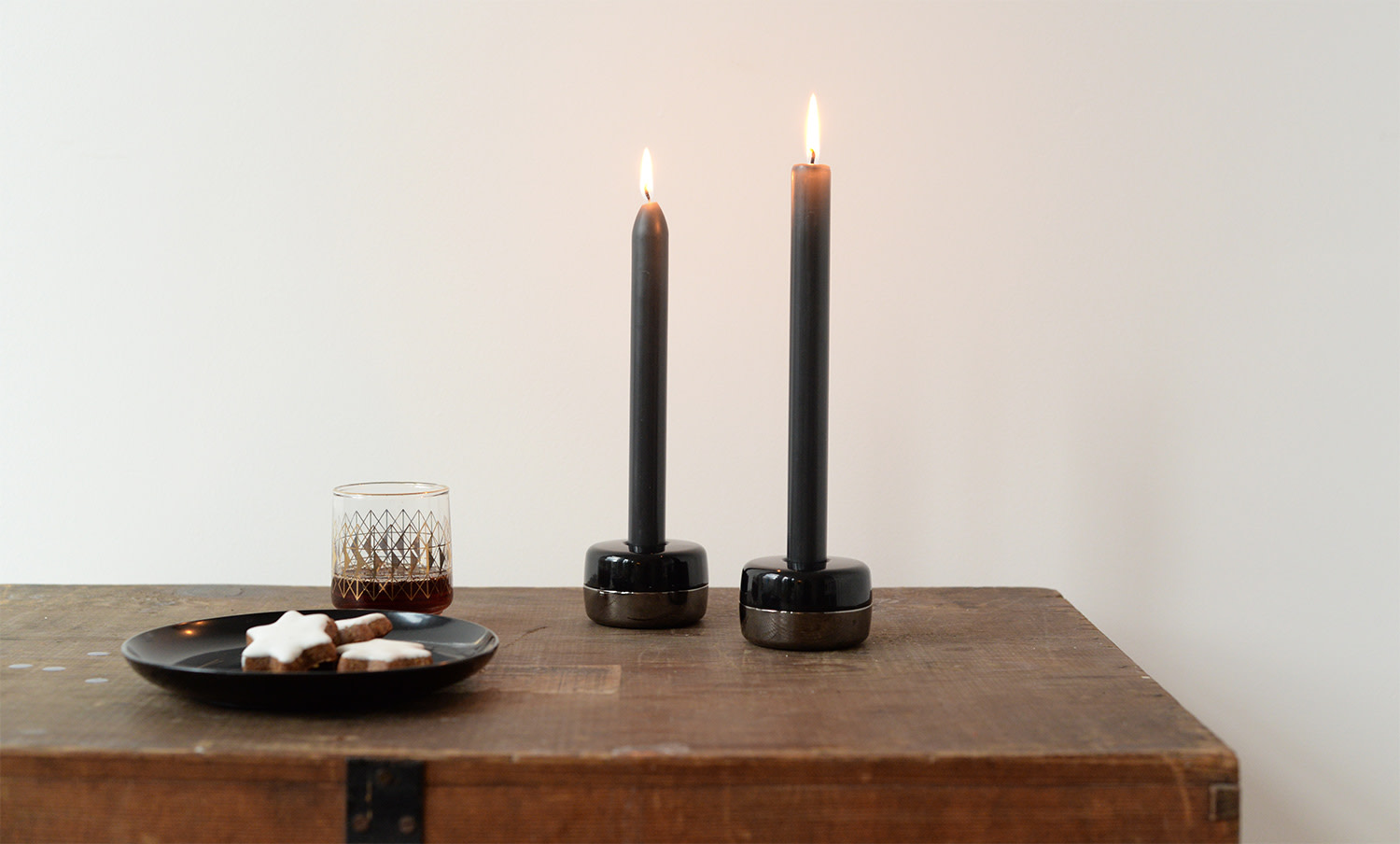 Duo Candle Holders