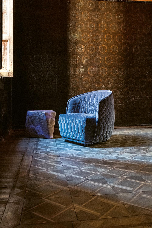 Redondo Armchair by Patricia Urquiola