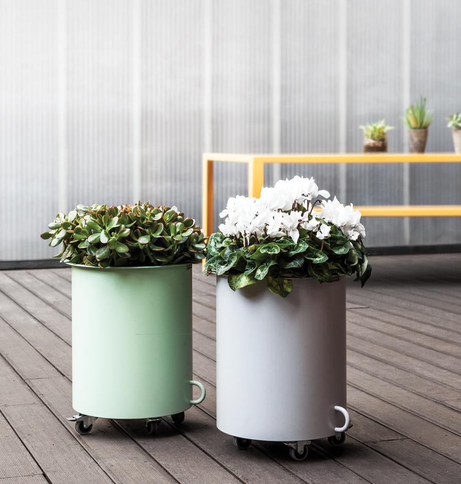 Drum planters
