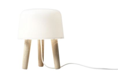 White Na1 Milk Lamp Ashamp; Cord Set 2 Natural Byamp;tradition Table Of 6Yfg7yb