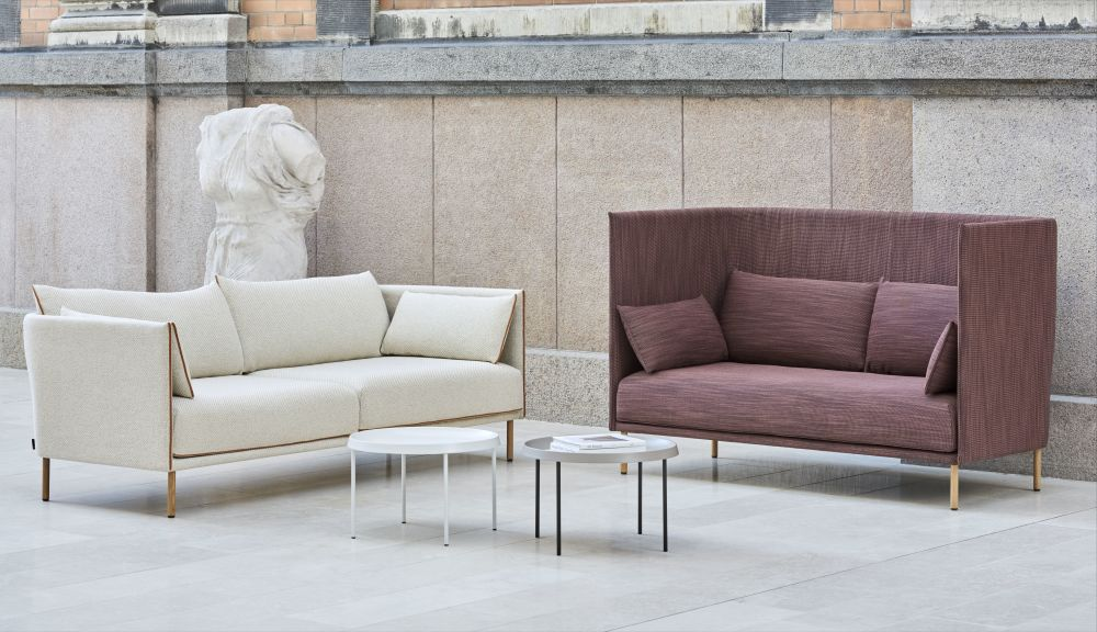 Seater 2 Sofa Silhouette Backed Mono Hay High From b76yYfg