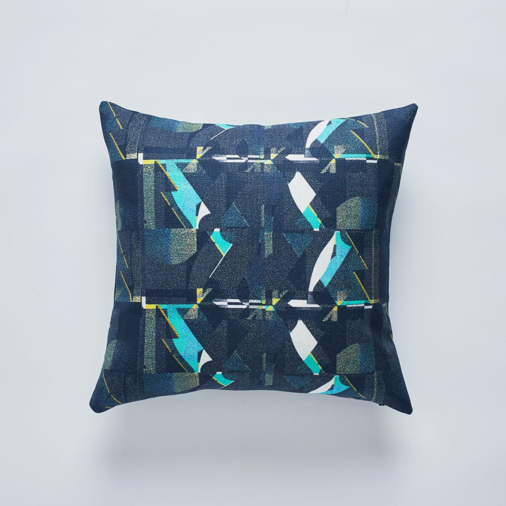 A Shingle Night cushion 50x50cm