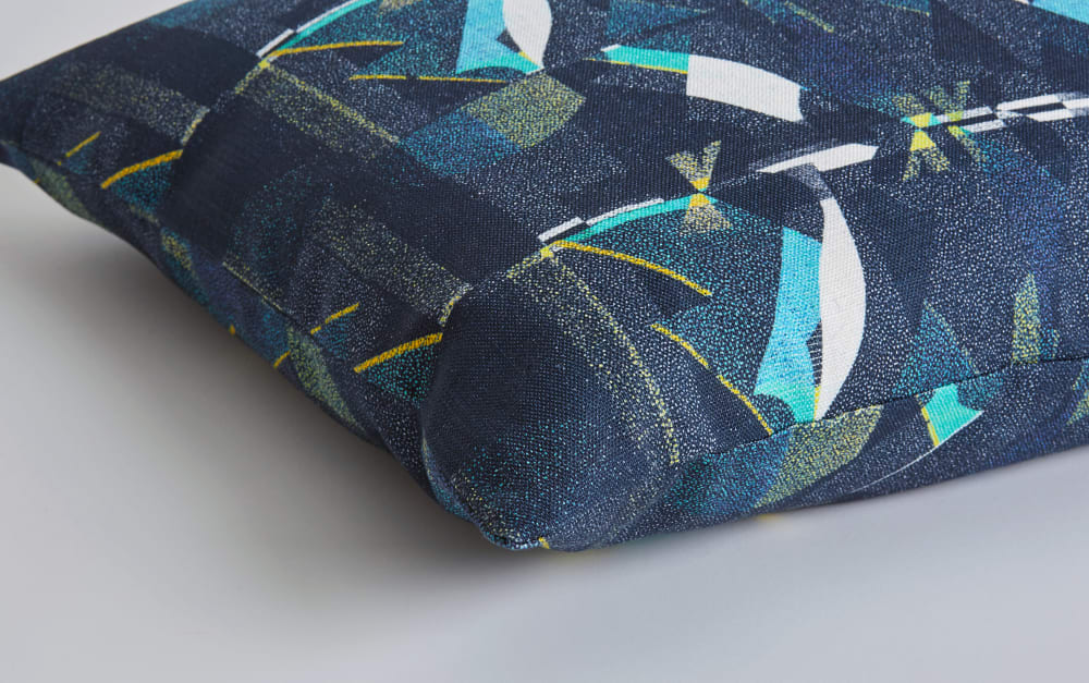 A Shingle Night cushion detail