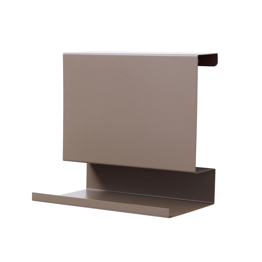 Browngrey Ledge:able Shelf