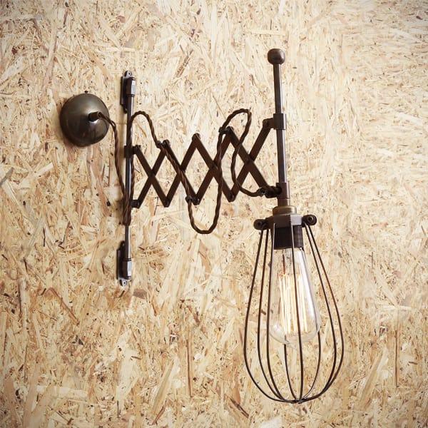 Calis Scissor Arm Cage Light