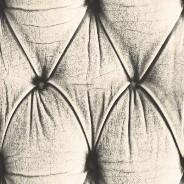 Cream Chesterfield Button Back Wallpaper