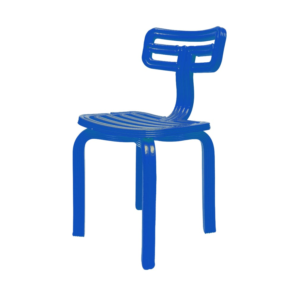 Chubby Chair, Blue