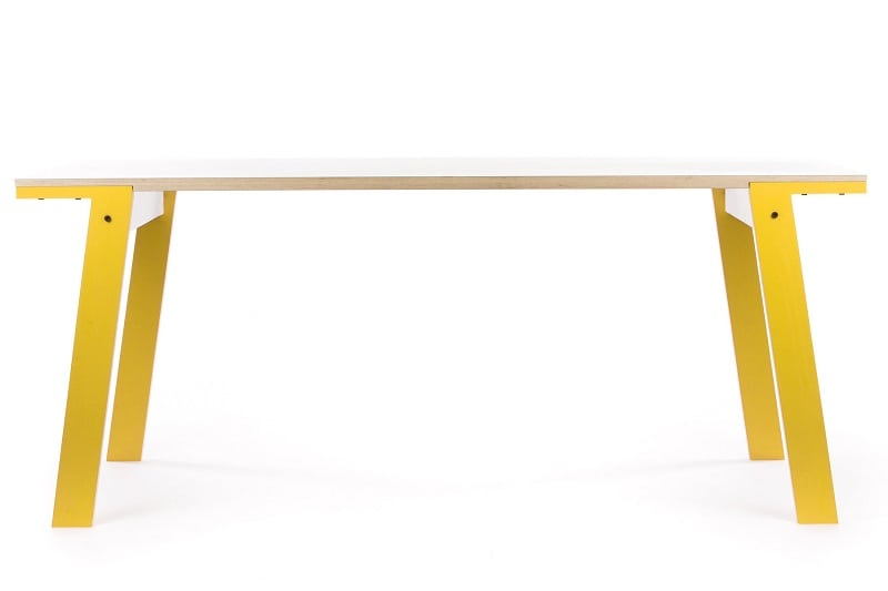 rform Flat Table - Canary Yellow
