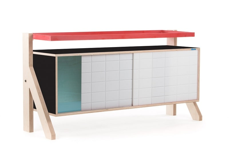 Frame Sideboard 03 Small - Inky Black