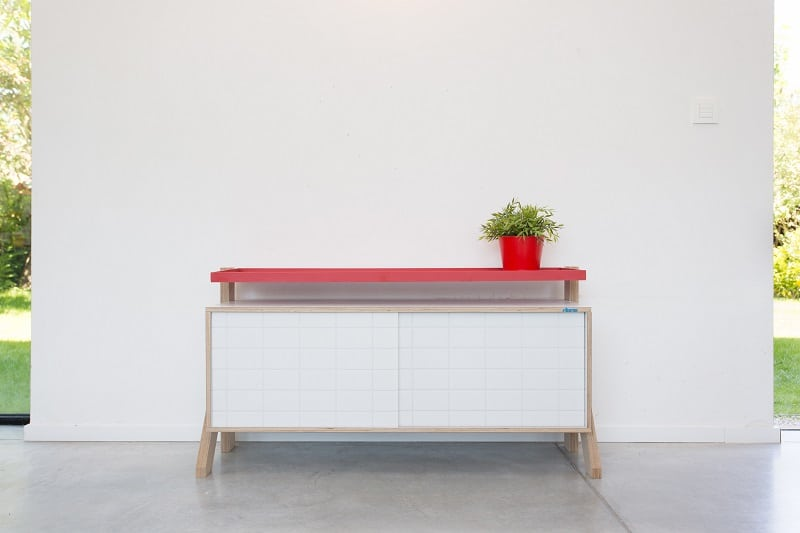 Frame Sideboard 03 Small - Snow White